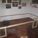 Esta estrutura de madeira transforma um quarto pequeno em algo fantástico! A ideia é brilhante