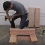 O que ele faz com algumas tábua de madeira é ideal para tua casa. É mesmo fantástico