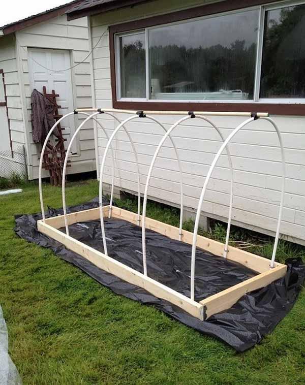 Dicas fant sticas para criares uma pequena estufa no teu quintal 1001 ideias - Estufa para habitacion pequena ...