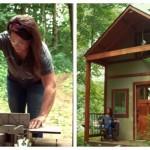 Jovem mãe de 3 filhos constrói a sua casa de sonho! Tudo isto acontece depois do divórcio