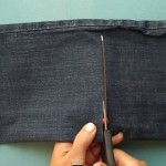 Aprende a dar uma utilidade incrível às calças de ganga velhas! É tão fácil!