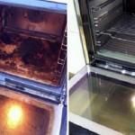 Esta é a melhor maneira de limpar o forno do fogão. E é muito fácil!