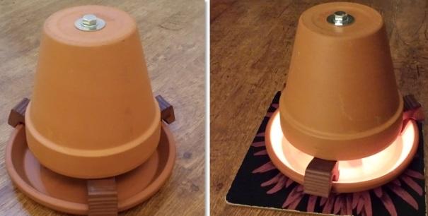 Como construir um aquecedor caseiro com velas - Como fabricar velas ...