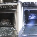 """Dica super eficaz de limpar o forno com """"produto"""" que todos temos em casa!"""