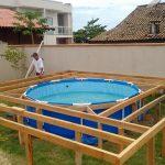 Faça uma piscina de qualidade sem gastar muito dinheiro