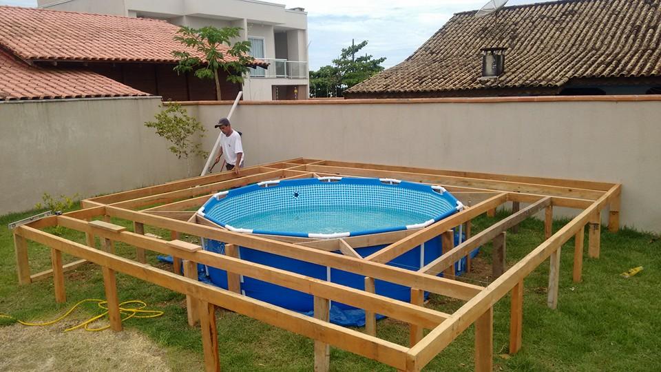 Fa a uma piscina de qualidade sem gastar muito dinheiro for Do it yourself deck designer