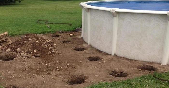 Arquivo de terra o de madeira para piscina 1001 ideias for Piscina fuori terra quando piove