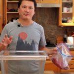 Como embalar alimentos a vácuo sem se utilizar máquinas! É muito fácil…