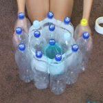 Mulher dá uso a 19 garrafas de água de forma impressionante. O resultado é tão incrível que deveria ser patenteado!!