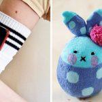 13 ideias super úteis para reciclar as meias sem par!