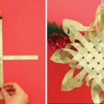 Aprenda a criar uma belíssima estrela de natal em poucos minutos!