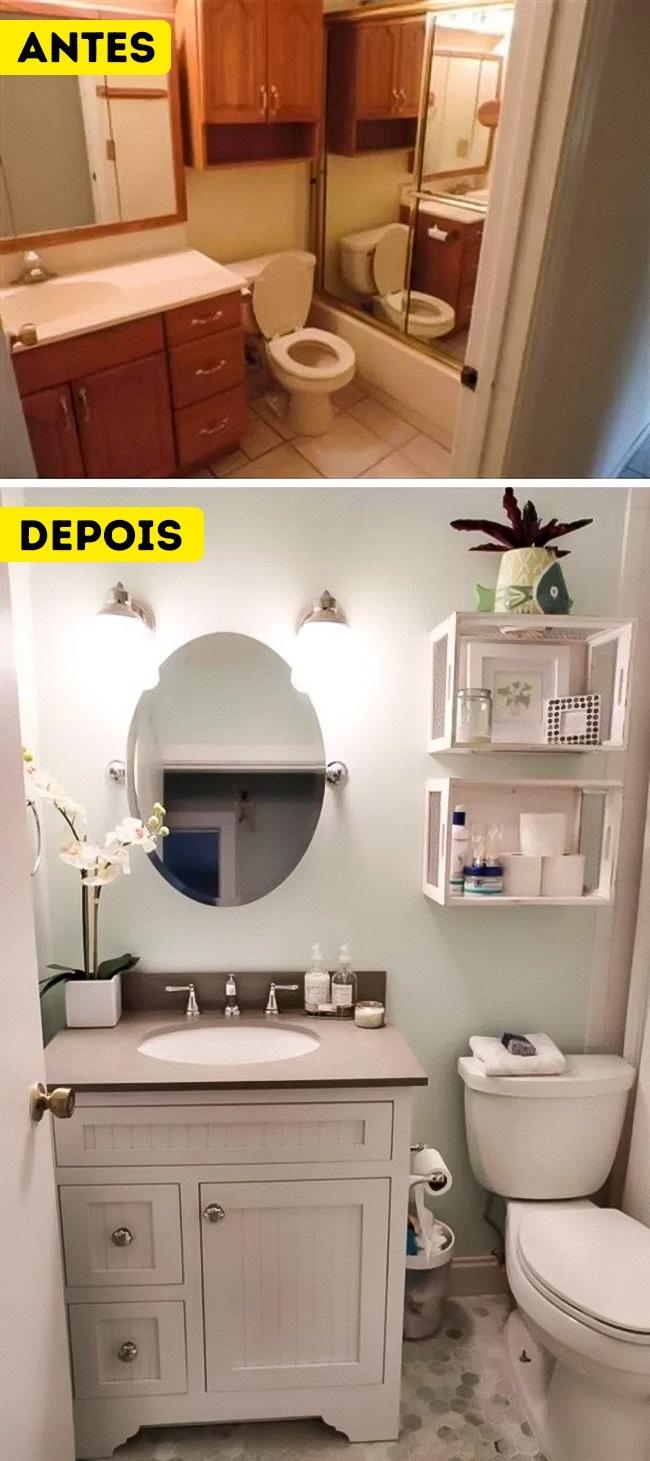 Ideias para deixar uma casa de banho pequena mais espa osa for Disenos de banos para casas pequenas