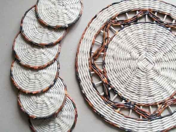 Artesanato Jornais E Revistas ~ Ideias de artesanato com jornais e revistas Ideias para reciclar!