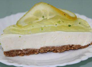cheesecake limão