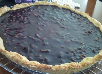 tarte chocolate nozes
